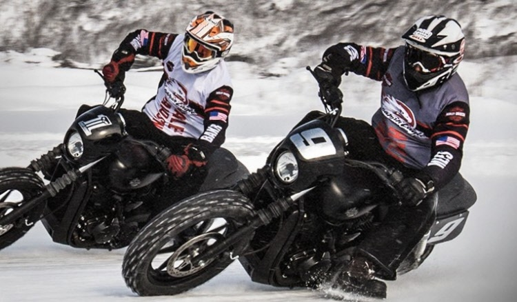 New H-D Street hits the ice