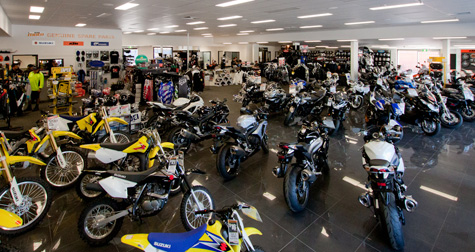 Motorcycle sales steady in 2014