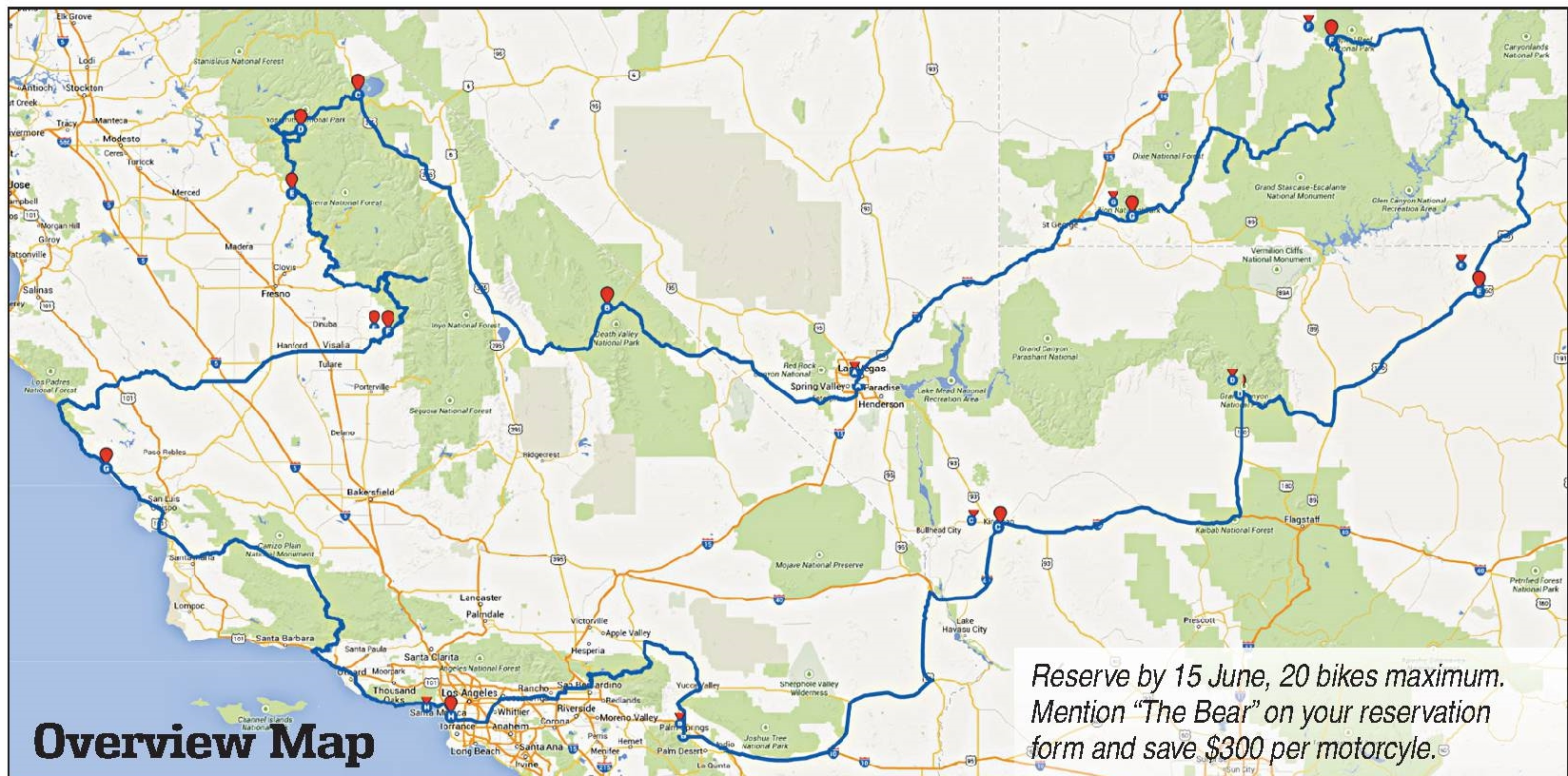 map - best of west