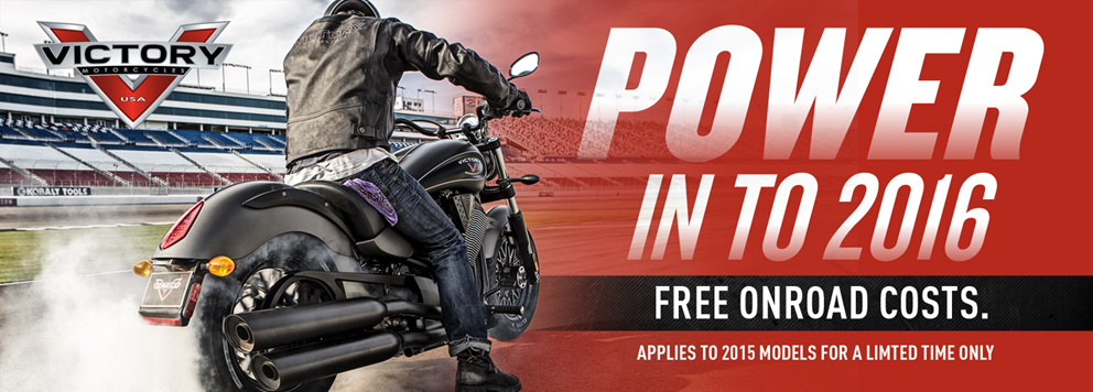 Victory Sales Promotion - Power in to 2016