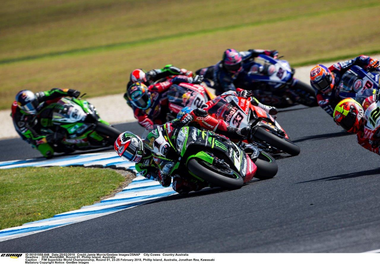WorldSBK action