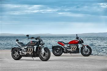 All New Triumph Rocket 3 R & Rocket 3 GT