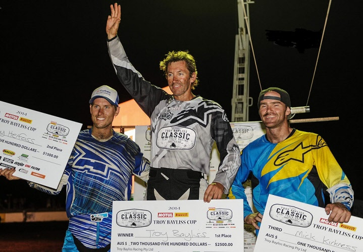 Troy Bayliss Classic – run and won