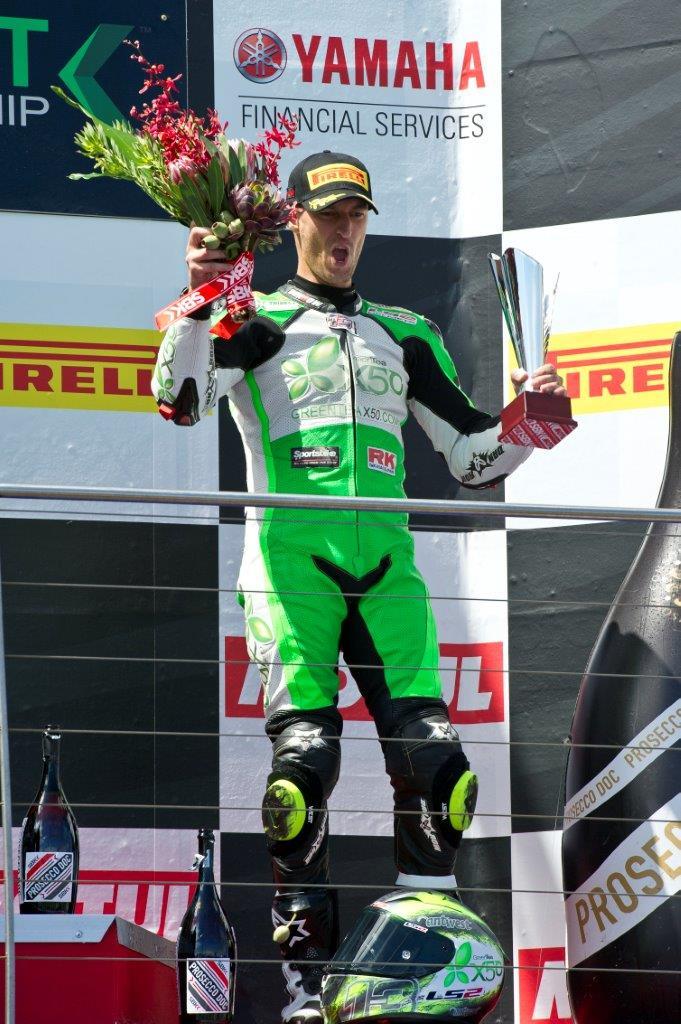 Anthony West podium, 3rd World SSP