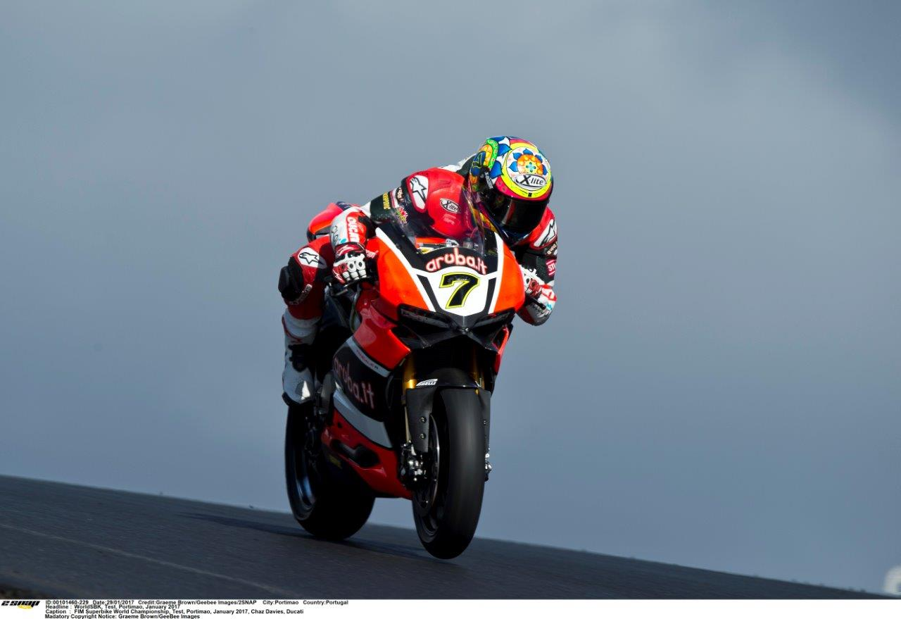 Chaz Davies Ducati testing (2)